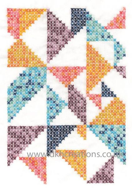 Pixel Nation Embroidery Kit